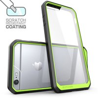 Wholesale Clear Coat Scratch - Supcase Scratch Resistant Coating Unicorn Beetle Premium Crystal Clear Transparent Case Protective Cover for iPhone 7 6 Plus 4.4 5.5 Inch