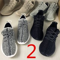 Wholesale Mens Running Bag - Orignal Box Bag Receipt Drop Shipping Cheap Famous 350 Boost Low MoonRock Women Mens Running Shoes Size EUR 36-47 US5-US12.5