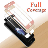 Wholesale touch screen protectors films - Tempered Glass for iPhone 6 6S 7 8 Plus Screen Protector for iPhone X 10 Glass Film Full Coverage 3D Touched Film