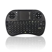цветная клавиатура android оптовых-Wholesale- EastVita I8 Keyboard Squirrel 3-color Backlight Mini Wireless 2.4Ghz Keyboard Backlit Perfect for Raspberry Pi PC/Android TV box