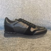 Wholesale Shoes Man 43 - actual shoes~u517 40 41 43 42 44 black genuine leathercamo sneakers running shoes casua unisex men ladies luxury