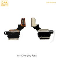 Wholesale aqua board - Original 5pcs lot For Sony Xperia M4 Aqua E2303 E2353 XP Charger Dock Port Connector Solt Usb Charging Board Flex Cable Ribbon