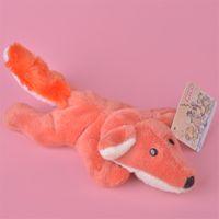 Wholesale farm animals decorations - 5 Pcs Wholesale New 10cm FOX Stuffed Animals Plush Fridge Magnet Toys, Learning & Teaching, Home Decoration Free Shipping