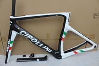 ingrosso telaio in carbonio 3k-Nuovo 2019 Cipollini nk1k T1000 3 k carbon bike telaio strada da corsa frameset bicicletta in carbonio può essere XDB DPD nave