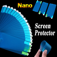 ingrosso pellicola protettiva dello schermo anti shock-Nano Anti Shock Soft Screen Protector Pellicola protettiva antideflagrante per iPhone 7 Plus Samsung A8 A9 E5 E5 Sony Z5 LG G5 HTC M9 Plus