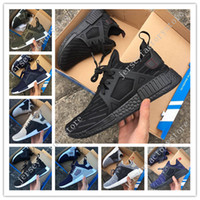 Wholesale Rubber Duck Keychain - New arrival NMD XR1 Duck CAMO BA7232 REAL BOOST Bottom With Nipples NMD_XR1 Camo NMD BA7232 Mens Running Shoes Box Receipt Keychain 36-45