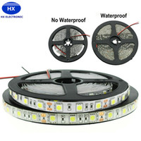 60LEDs m 300led rodillo digital smd 5050 RGB Ledstrips DC12v flexible Led Pixel tira de luz blanco doble pcb impermeable IP65 vacaciones Led luces