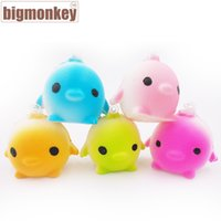 Wholesale Big monkey brand CM Kawaii arrival slow rising mini Lovely birds with squishy charm toy
