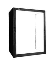 softbox video toptan satış-LED Profesyonel Taşınabilir Softbox 120 * 80 * 200 cm LED Işıkları ile LED Fotoğraf Stüdyosu Video Aydınlatma booth viaDHL ücretsiz kargo