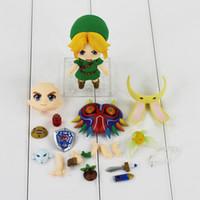 Wholesale 3d Model Child - 10 cm Legend About zelda Link 553 Major Advertisment Mask 3D Ver PVC Shapes Model Toys Dolls Gifts for Children