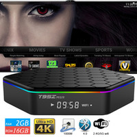 4k tv box octa 2gb großhandel-S912 TV Box T95Z plus Gigabit Lan 2,4 g 5,8 g AC Wifi Android 7,1 4k Ultra Smart TV-Streaming-Boxen T95Z 2 GB 16 GB Fernsehen Media Player