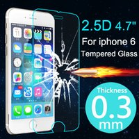Wholesale Top Case Premium - Top Quality 0.3mm HD Ultrathin Premium Tempered Glass Screen Protector For iphone 6 6s Plus Protective Film Case For iPhone 6 6s