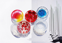 Wholesale Moulding Craft - 2pcs lot Silicone Round Plate Dish Display Resin Mold Making Jewelry Holder Mould Tool DIY Hand Craft epoxy resin molds