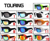 Woman outdoor tours - KEN BLOCK HELM Cycling Sports Outdoor Sunglasses for Men or Women Sunglasses The Touring Reflective Lenses big frame sunglasses