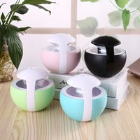Wholesale Colourful Car Usb Charger - Creative Night Lamp Humidifier USB Mini Household Air Purifier Aromatherapy Essential Oil Diffuser For Personalized Gifts Colourful 43ty C