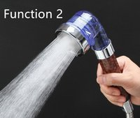 Wholesale Anion Spa Three Function High Pressurize Water Saving Hand Shower Bathroom Shower Head