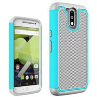 футляр для мобильного телефона оптовых-Для LG G 4 / мобильный телефон сумка футбол зерна PC + Силиконовый гибридный чехол Чехол для LG G4