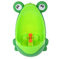 Discount potty training boys peeing - Boys Standing Urinal Baby Boy Potty Toilet Training Frog Children Stand Vertical Urinal Boys Penico Pee Infant Toddler Wall-Mounted TNB