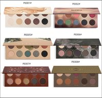 Wholesale Easy Tone - New 10 Colors Makeup Eyeshadow Pallete Matte Eye shadow Smoky Earth Tone Gitter Naturally Yours Belle Cocoa Makeup pallete for cosmetics