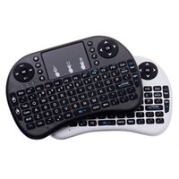 game mouse al por mayor-Mini Teclado Inalámbrico Rii i8 2.4 GHz Air Mouse Teclado de Control Remoto para Touchpad Android Caja TV X96 Mini S905W 3D Game Tablet