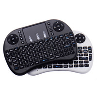 Wholesale game for sale - Mini Wireless Keyboard Rii i8 GHz Air Mouse Keyboard Remote Control Touchpad For Android Box TV X96 Mini S905W D Game Tablet