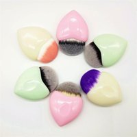Wholesale makeup tools cute - 2017 Heart Shaped Makeup brushes mermaid Makeup Brushes Powder Blush Foundation brushes Cosmetic Tool cute heart Contour BB Cream DHL
