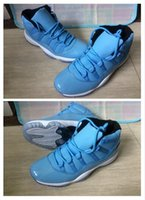 Wholesale Discount Leather Shoes For Women - 2017 New Arrival Newest Air Retro 11 XI Basketball Shoes For men women Space Jam 11s Bred Legend Blue Discount Sports Shoes
