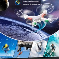 Wholesale Stand 4ch - Single SYMA X5C RC Drone Stand-Alone 2.4G 4CH 6-Axis RC Quadcopter Without Camera and Remote Control 100% Original Drones RC+B