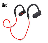 Wholesale Red Music Box - New Bluetooth 4.1 Headphones Stereo Fashion Sport Running Wireless hanning Headsets Studio Music Earphones With Mic Handsfree In Box