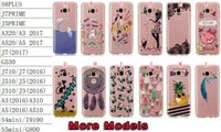 Funda de TPU suave para Iphone X Samsung Galaxy NOTE 8 S8 Plus J5 Prime J7 A3 A5 J3 2017 Funda de teléfono Grand Bear G530 Dream catcher Cat Bear Panda