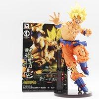Wholesale Bardock Figure - son goku 22CM Dragon ball Z SCultures BIG Resurrection Of F Styling God Super Saiyan Son Goku Bardock PVC action Figure Toy KT1759
