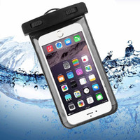 Wholesale dive compass - Dry Bag Waterproof case bag PVC Protective universal Phone Bag Pouch With Compass Bags For Diving Swimming For smart phone