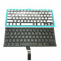 "Wholesale A1369 Keyboard - New keyboard For Macbook Air 13"" A1369 A1466 Norwegian Keyboard with Backlight 2011-2015 Years Good Working"