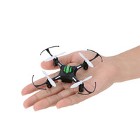 Wholesale Returned Toys Wholesale - Hot hot toys!2.4G 4CH 6 Axis gyro11cm Quadcopter Drone Headless Mode 1 Key Return RTF JJRC H8 Mini Toys RC helicopter