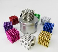 Wholesale mix colours216pcs mm magnetic ball Magic ball buckyballs Neocube neodymium Toy Neo Cubes Puzzle ball Toy Sphere Magnet Magnetic Bucky Balls