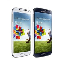 Wholesale S4 Quad Core 16gb - Original Samsung Galaxy S4 i9500 3G I9505 4G Eu version 16GB Quad Core 5.0Inch 2.0MP+13.0MP Camera Unlocked Smart Phones