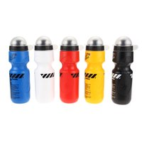 Wholesale Wholesale Sports Jugs - 1Pcs 650ML Portable Outdoor Bike Bicycle Cycling Sport Drink Jug Water Bottle Cup Tour De France Bicycle Bottle 5 Color