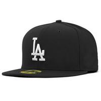 Wholesale Snapback Drop Ship - 8 colors LA Hip Hop Snapback Baseball Caps LA Hats Sports Caps Unisex New York Women casquette Men Casual headware drop shipping