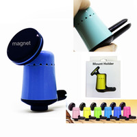 Wholesale Wholesale Magnetic Note Holder - Universal Mini Perfume Car Air Vent Clip Magnetic Mount Holder 360 Degree Rotating for Cellphone Mobile phone iPhone 8 Note 8