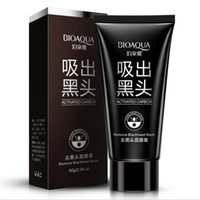 Wholesale Facial Beauty Treatment - Factory Price BIOAQUA Blackhead Remover Black Mask Deep Cleasing Facial Mask Peeling Off Mask Beauty Skin Care Black Head removedor de cravo