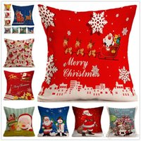 Wholesale slip covered sofas for sale - Group buy Fashion Sequins Cushion Cover Pillow slip Christmas Pillow case Cover Home Sofa Car Décor Magic Pillow Cover B0865