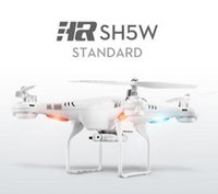 Wholesale syma x5c hd camera resale online - Newest SH5 SH5W Wifi FPV Quadcopter RC Drone with HD Camera D Headless mode4CH axis Gyro RC Quadcopter RTF VS syma X5SW X5C