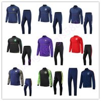Wholesale Galaxy Jackets - AAA+ quality soccer jacket kits 2017 2018 LA Galaxy jackets 17 18 Orlando New York City ajax tracksuit jacket Sweatshirt free shipping
