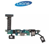 Wholesale galaxy s6 charging port - New OEM Replacement Charging Port Charger Dock Connector USB Flex Cable For Samsung Galaxy S6 G920A G920P G920V G920F