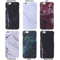Wholesale Iphone Glossy Plastic Case - Fashion Printed Soft Marble Granite Texture Glossy Case Cover for iPhone 7 7plus Samsung S8  S8plus With the Opp Package