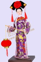 Wholesale Chinese Costume Cloth - The Legend of Zhen Huan 65yz7b Qing people 5 color Chinese palace Princess Doll Costume Dress ethnic ceremony