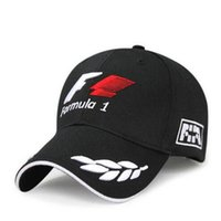 Ball Cap Unisex Spring & Fall F1 Formula One racing team embroidered hat letter outdoor sports men and women baseball cap hat black casquette bone
