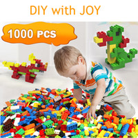 Wholesale Models DIY Blocks Creative Education Building Bricks Toys for Children Diy Block Bricks