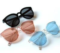 mavi han toptan satış-Denizin efsanesi mavi yeni güneş gözlüğü han baskı kadın güneş gözlüğü moda büyük gözlük Retro Vintage Güneş Gözlüğü