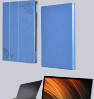 Wholesale yoga tablet inch online - Luxury Print Flower PU Leather Case Cover for Lenovo Yoga A12 inch Tablet Stylus Pen Protection Case